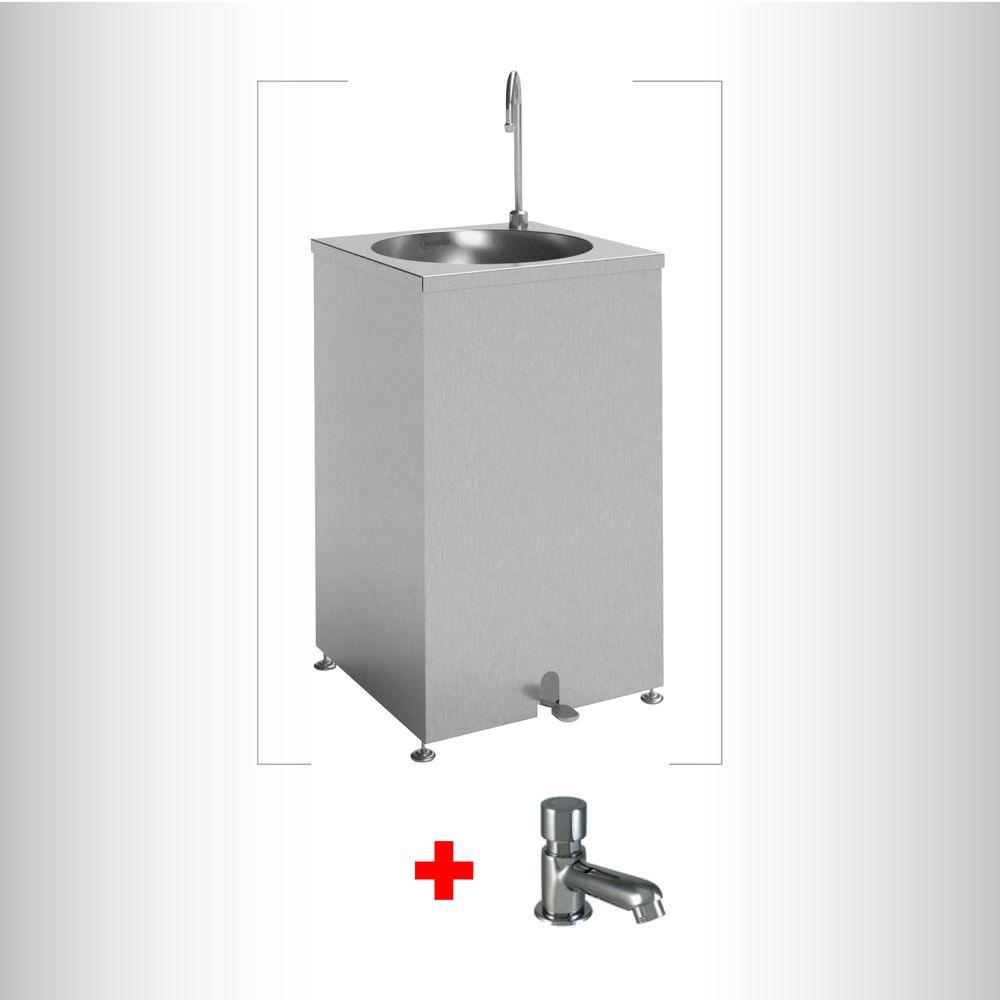 Combo-Lavamanos-acero-inoxidable-Autoportante---Grifo-Push-TLP-03